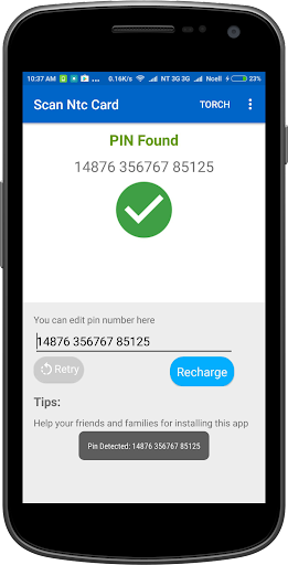 Recharge Card Scanner for NTC and Ncell Users screenshot 2