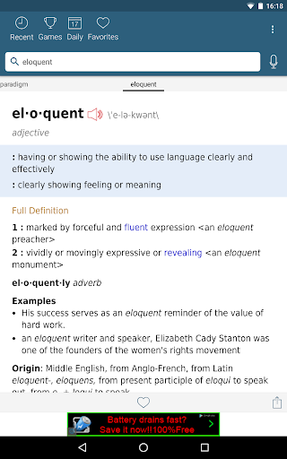 Dictionary - Merriam-Webster screenshot 10