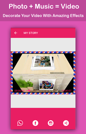 Video Maker with Photo and Music screenshot 5