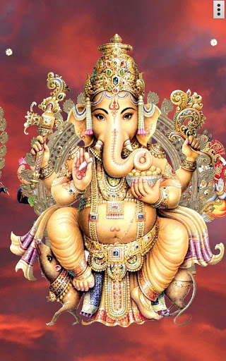 4D Ganesh Live Wallpaper скриншот 12