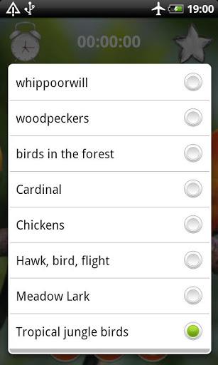 Birds Calls Sounds 2 تصوير الشاشة
