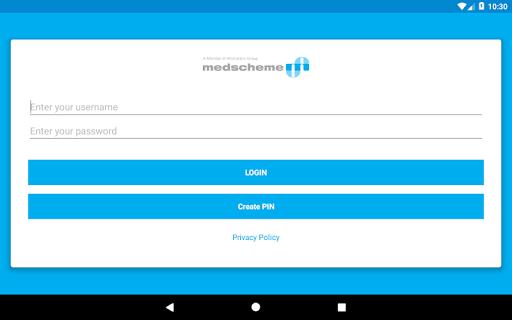 Medscheme Touch 9 تصوير الشاشة