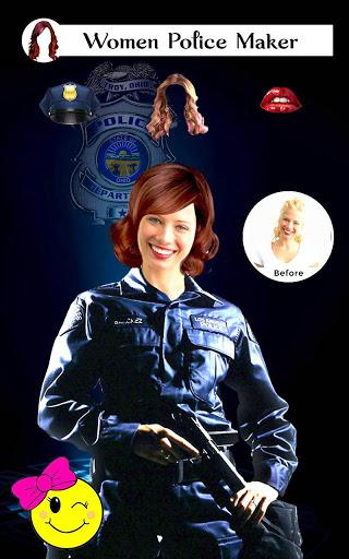 Policer - Men Women Police photo suit Editor Set 4 تصوير الشاشة