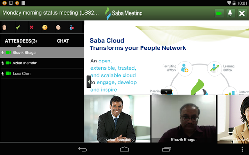 Saba Meeting screenshot 10