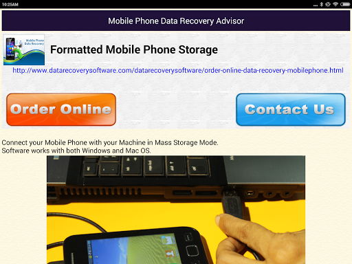 Mobile Phone Data Recovery DOC screenshot 10