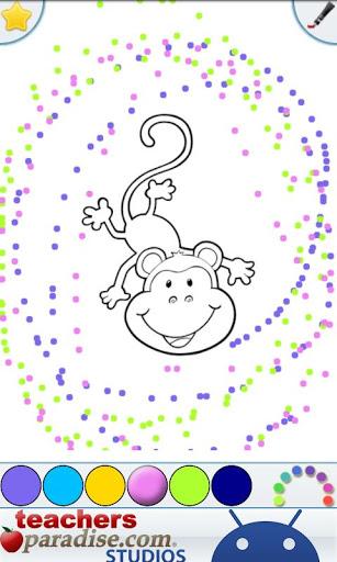 Jungle Animals Coloring Book screenshot 4