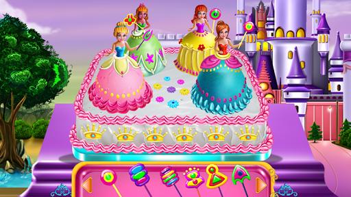 Princesses Cake Cooking 2 تصوير الشاشة