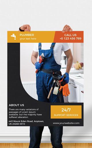 Flyers, Poster Maker, Graphic Design, Banner Maker 14 تصوير الشاشة