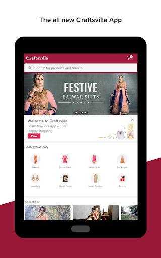 Craftsvilla - Sarees Suits Jewellery Shopping App 7 تصوير الشاشة