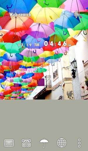 خلفيات وأيقونات Umbrella Sky 5 تصوير الشاشة