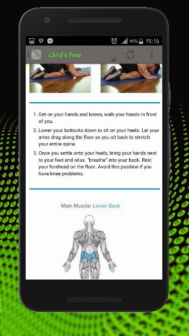 Stretching, Flexibility and Warm Up Exercises 5 تصوير الشاشة