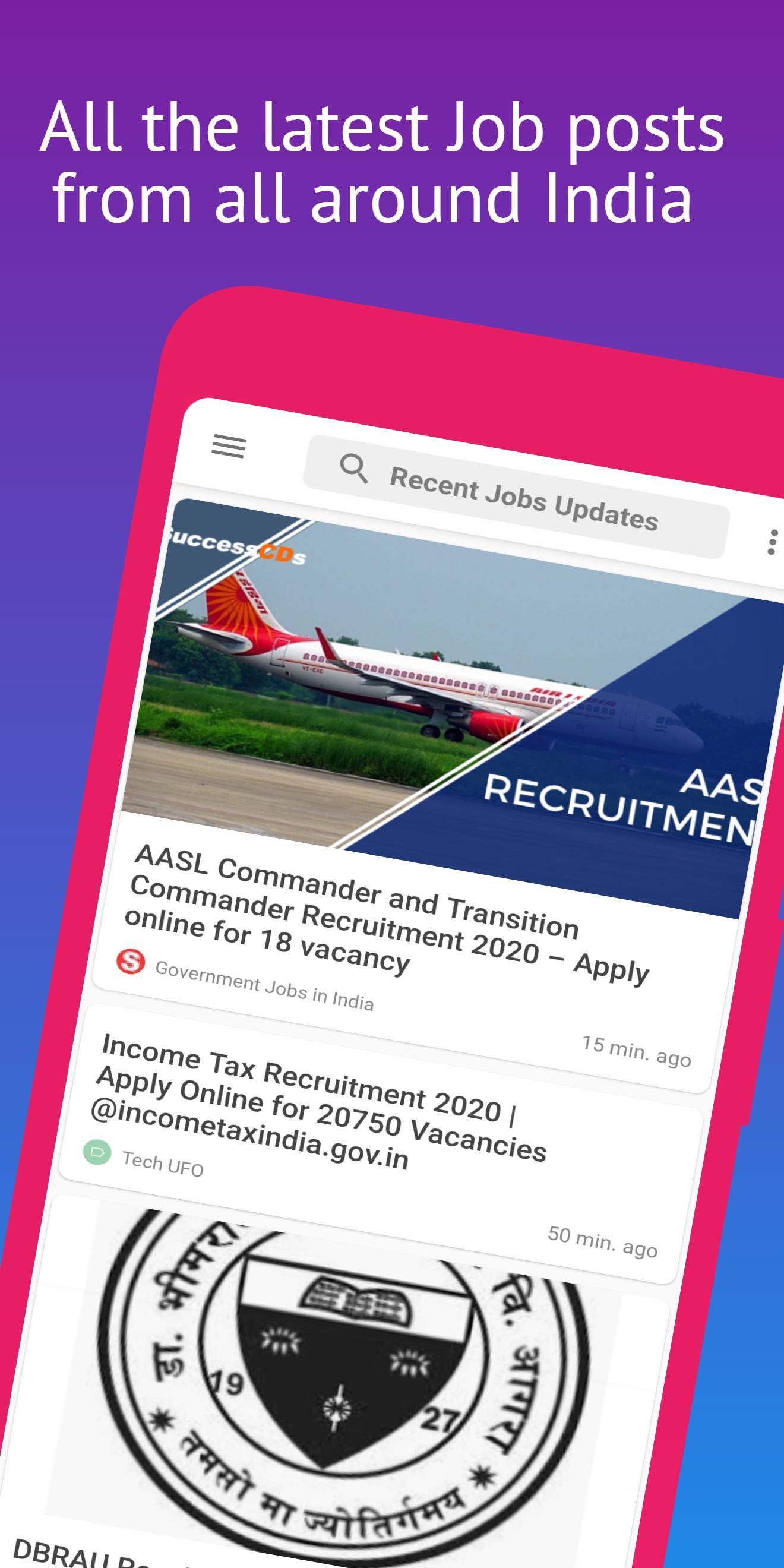 Jobs India: All Government Job Updates, Job Alerts screenshot 2
