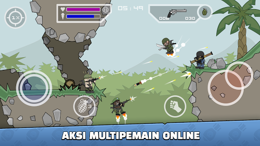 Mini Militia - Doodle Army 2 screenshot 1