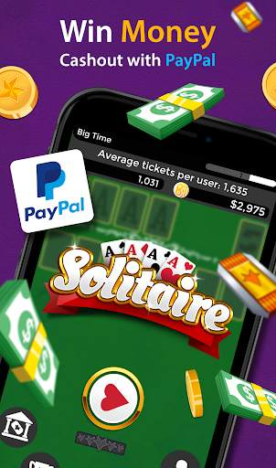 Solitaire - Make Free Money and Play the Card Game screenshot 2