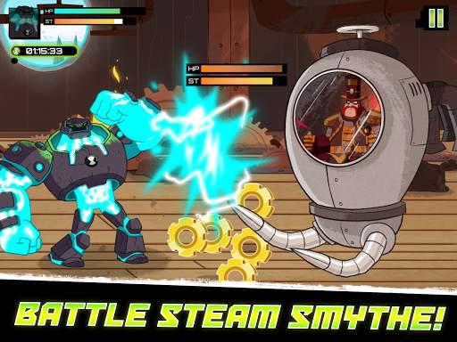 Ben 10 - Omnitrix Hero: Aliens vs Robots screenshot 10