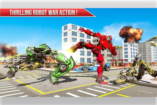 Formula Car Robot Transform - Flying Dragon Robot screenshot 2