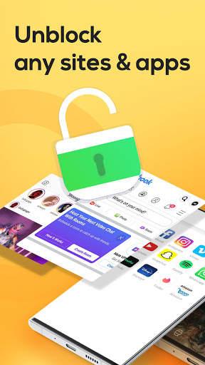Yoga VPN - Free Unlimited & Secure Proxy & Unblock screenshot 4