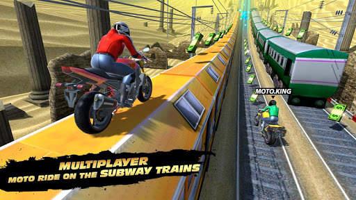 Subway Rider - Train Rush screenshot 1