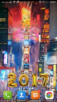 السنة الجديدة على مدار الساعة 4 تصوير الشاشة