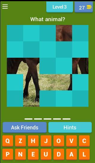 Animal Guessing Game 4 تصوير الشاشة