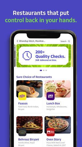 EatSure - Order Food Online & Food Delivery 3 تصوير الشاشة