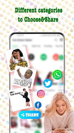 TextSticker - sticker for WhatsApp - WAStickerApps screenshot 3