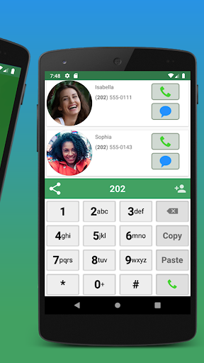 Contacts, Dialer and Phone by Facetocall screenshot 3