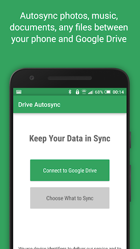 Autosync for Google Drive screenshot 1