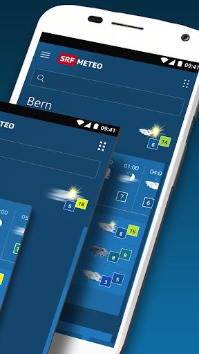 SRF Meteo - Wetter Prognose Schweiz screenshot 2