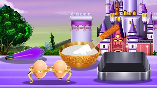 Princesses Cake Cooking 1 تصوير الشاشة