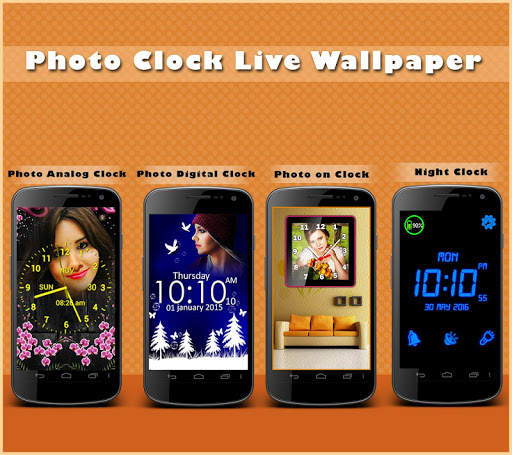 Clock Live Wallpaper - Analog, Digital Clock 2020 screenshot 9