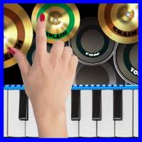 Blue Drum - Piano on 9Apps