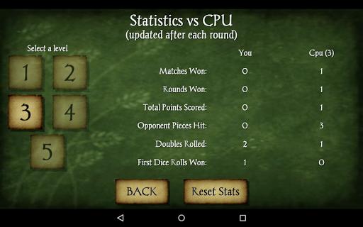 Backgammon Free 16 تصوير الشاشة