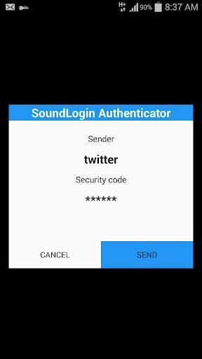 SoundLogin Authenticator скриншот 5