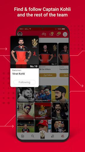 RCB Official- Live Cricket Scores screenshot 3