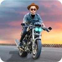 Man Bike Rider Photo Editor on APKTom