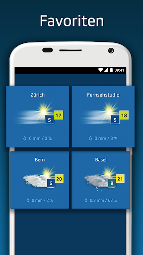 SRF Meteo - Wetter Prognose Schweiz screenshot 4