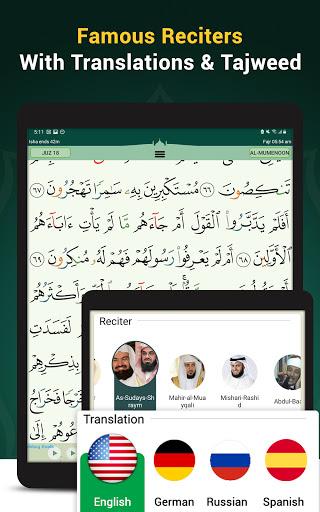 Quran Majeed – القران الكريم: Prayer Times & Athan screenshot 11
