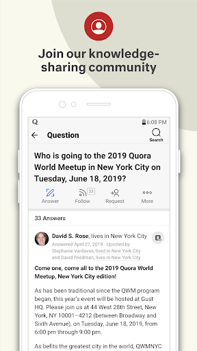 Quora — Ask Questions, Get Answers 6 تصوير الشاشة