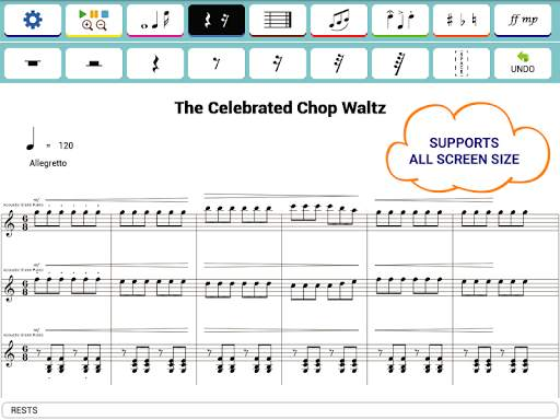 Maestro - Music Composer screenshot 8