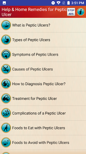 Peptic Ulcers Treatment & Help for Stomach Ulcers screenshot 1
