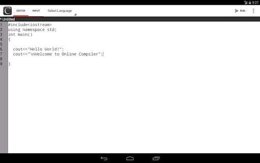 Online Compiler screenshot 7