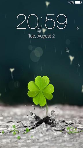 Galaxy rainy lockscreen screenshot 8