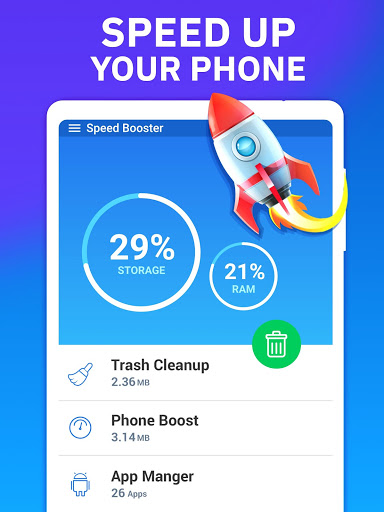 Phone Speed Booster - Junk Removal and Optimizer 8 تصوير الشاشة
