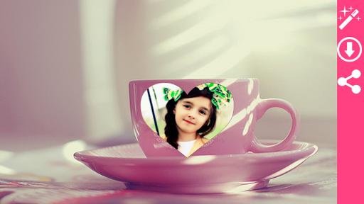 Coffee Cup Photo Frame 5 تصوير الشاشة