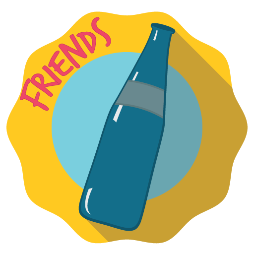 Spin the Bottle for Friends! icon