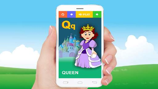 Alphabet Learning App For Kids screenshot 1