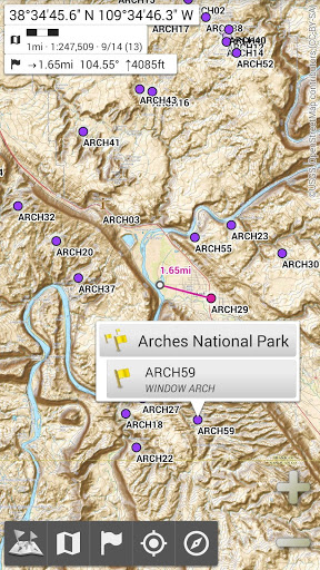 All-In-One Offline Maps 1 تصوير الشاشة