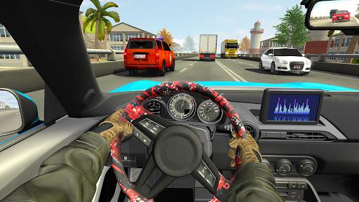 Highway Driving Car Racing Game : Car Games 2020 3 تصوير الشاشة