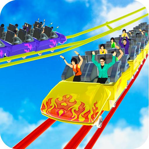 Rücksichtslose Achterbahn-Simulator-Spiele icon